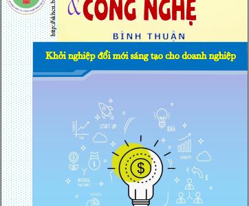 Thông tin tổng hợp KH&CN Bình Thuận số 05.2020