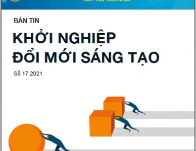 Bản tin Khởi nghiệp đổi mới sáng tạo số 17.2021