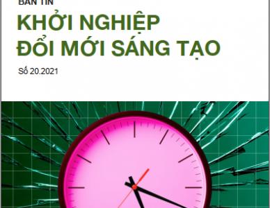 Bản tin Khởi nghiệp đổi mới sáng tạo số 20.2021