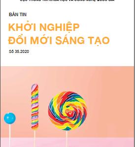 Bản tin Khởi nghiệp đổi mới sáng tạo số 35.2020