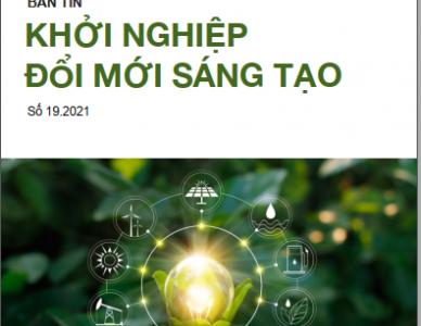 Bản tin Khởi nghiệp đổi mới sáng tạo số 19.2021